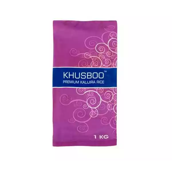 Khusboo Premium Kalijira Rice (1 KG)