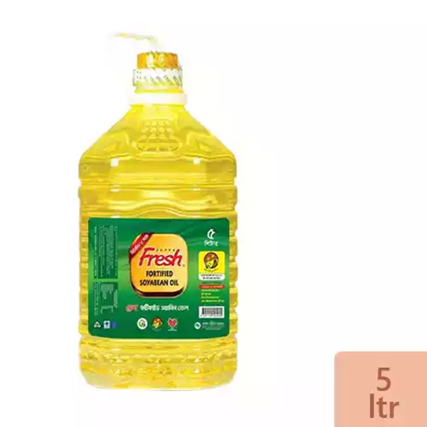 Fresh Soyabean Oil (5 Ltr)