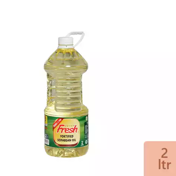 Fresh Soyabean Oil (2 Ltr)