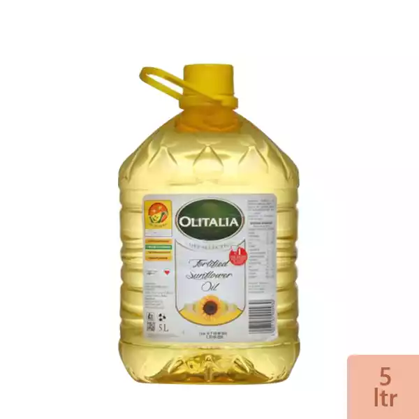 Olitalia Sunflower Oil (5Ltr)