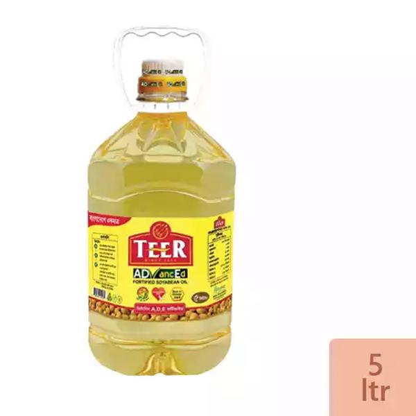 Teer Soyabean Oil (5 Ltr)