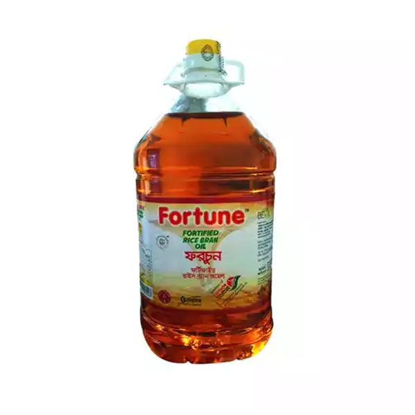 Fortune Fortified Rice Bran Oil (5 Ltr)