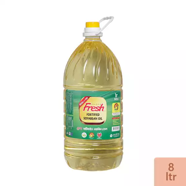 Fresh Soyabean Oil (8 Ltr)