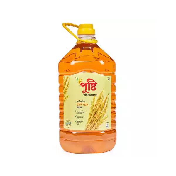 Pusti Rice Bran Oil (5 Ltr)