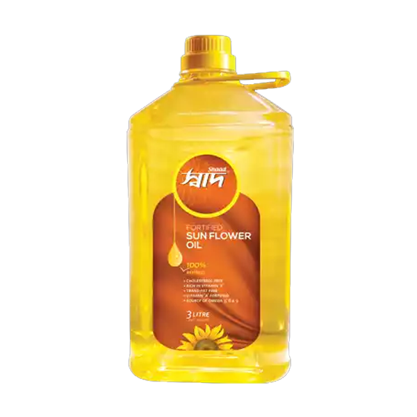 Shaad Sunflower Oil (3 Ltr)