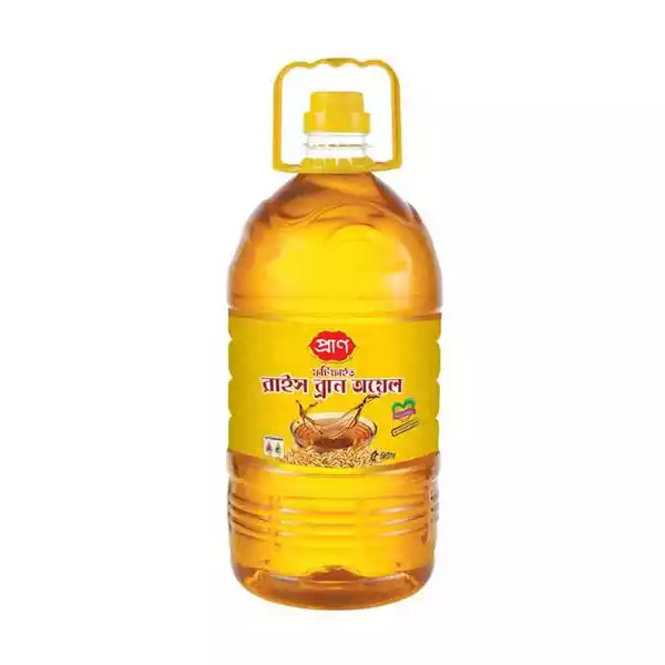 PRAN Rice Bran Oil (5 Ltr)