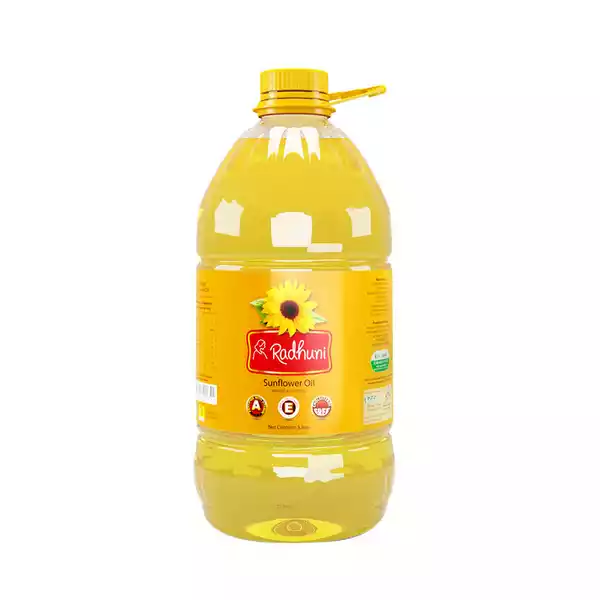 Radhuni Sunflower Oil (5 Ltr)