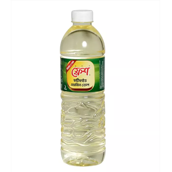Fresh Soyabean Oil (1 Ltr)