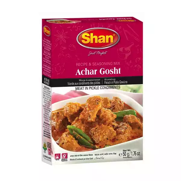 Shan Spice Mix For Achar Gosht Curry (50 gm)