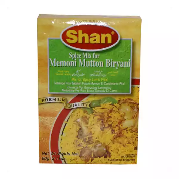 Shan Malay Spice Mix for Memoni Mutton Biriyani (60 gm)