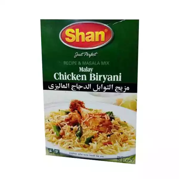Shan Spice Mix For Malay Chicken Biryani (60 gm)