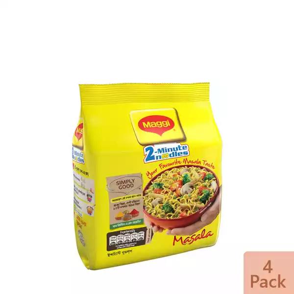 Nestlé MAGGI 2-Minute Noodles Masala 4 Pack