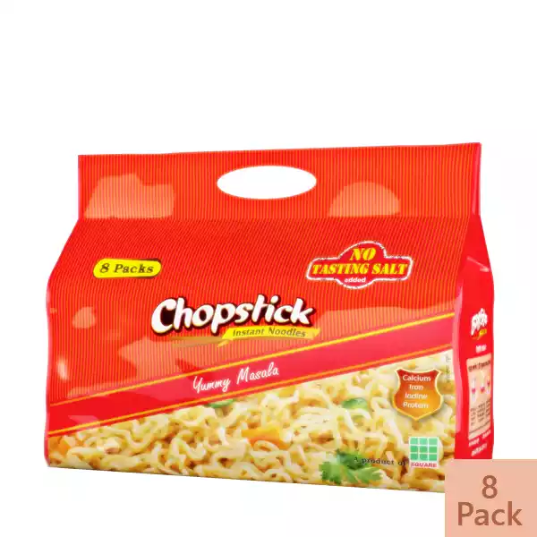 Chopstick Yummy Masala Instant Noodles (8 Pack)