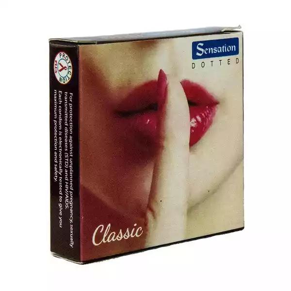 Sensation Classic Dotted Condoms