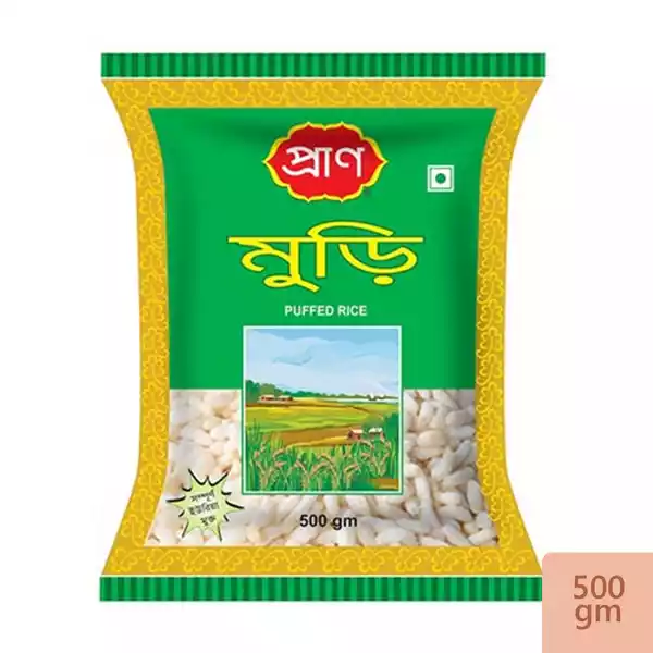 PRAN Puffed Rice (Muri)- 500 gm