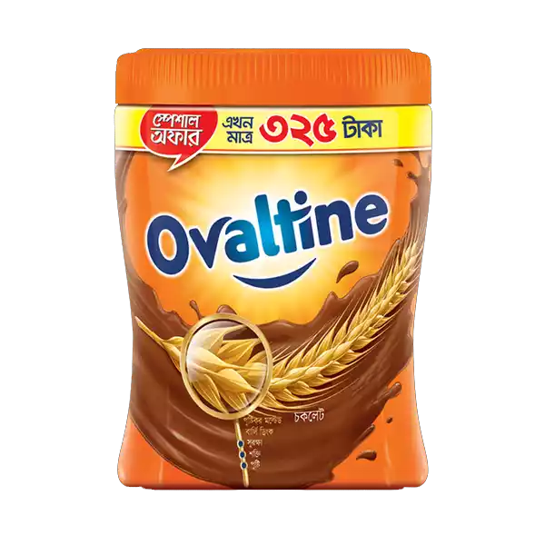 Ovaltine Malted Chocolate Drink Jar (400 gm)