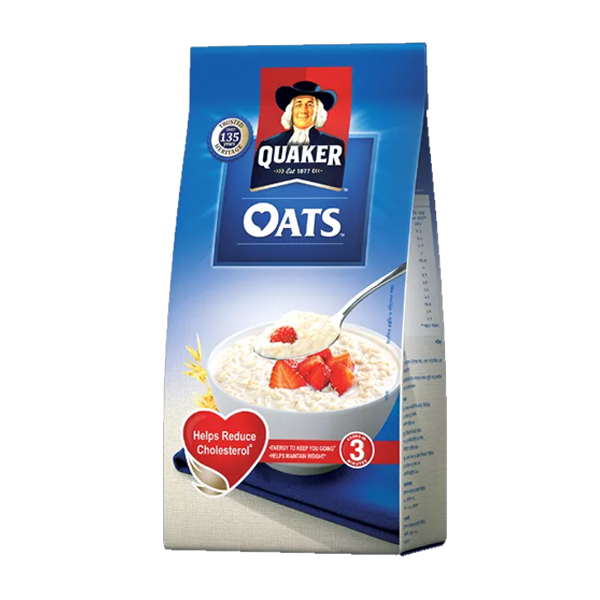 Quaker Oats Poly (500 gm)