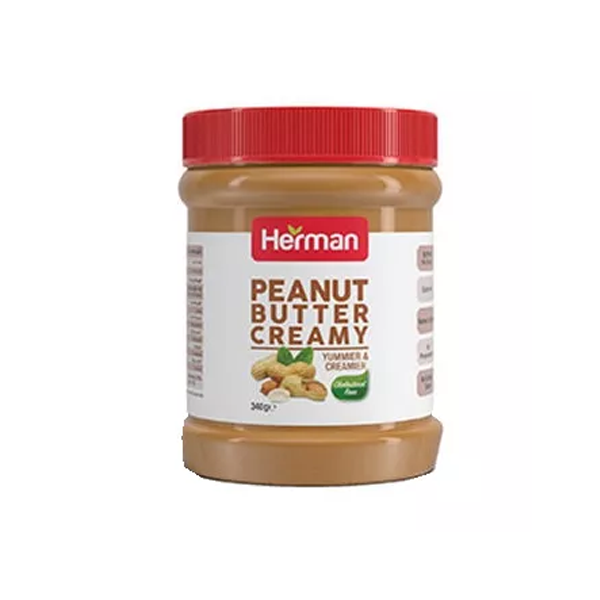 Herman Peanut Butter Creamy (340 gm)