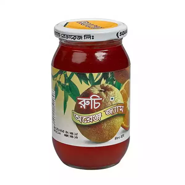 Ruchi Orange Jam (480 gm)