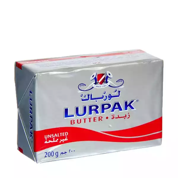 Lurpak Butter Unsalted (200 gm)