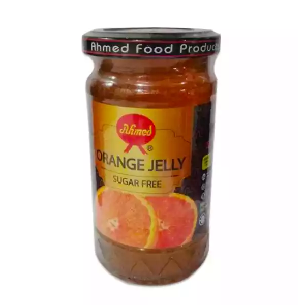 Ahmed Sugar Free Orange Jelly (375 gm)