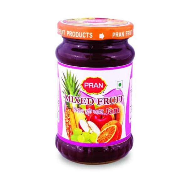 PRAN Mixed Fruit Jam (375 gm)