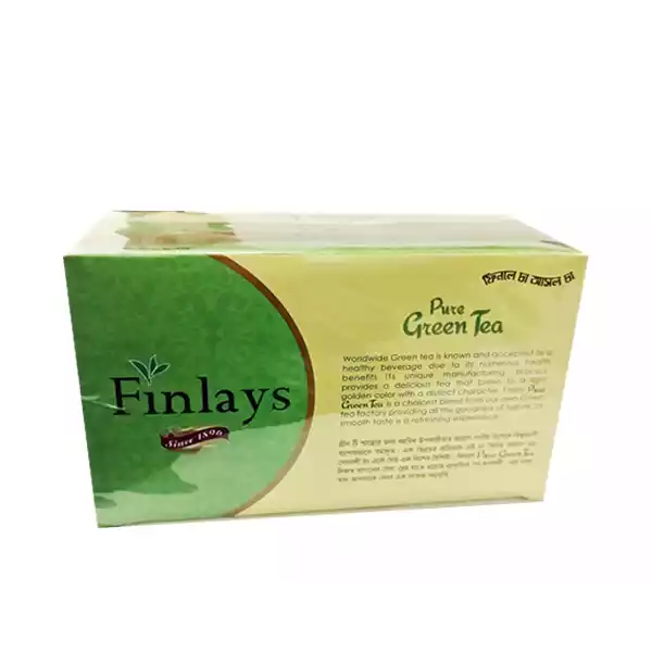 Finlays Pure Green Tea Bags 100 gm (50 Pcs)