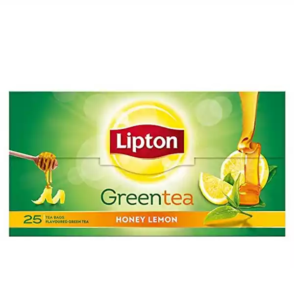 Lipton Green Tea Bag Honey and Lemon (25 pcs)