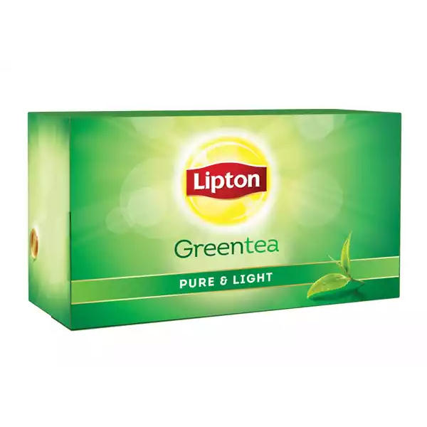 Lipton Green Tea Bag Pure & Light (25 pcs)