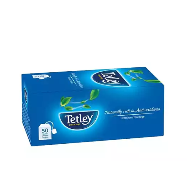 Tetley Premium Tea Bags 100 gm (50 pcs)