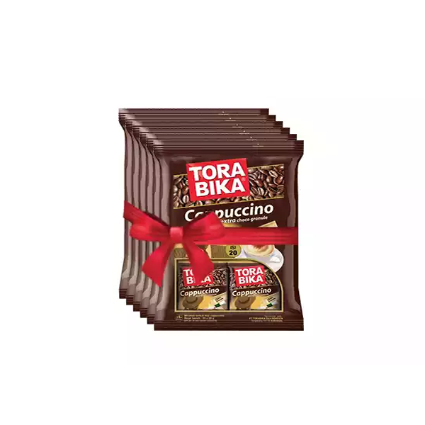 Tora Bika Cappuccino (25 gm*6)  (6 pcs)