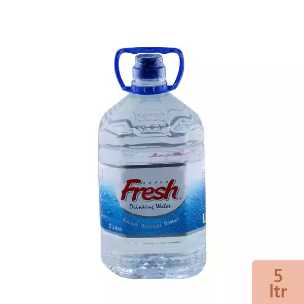 Super Fresh Drinking Water (5 Ltr)