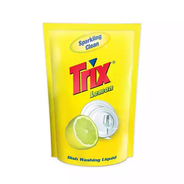Trix Dishwashing Liquid Lemon Refill (250 ml)