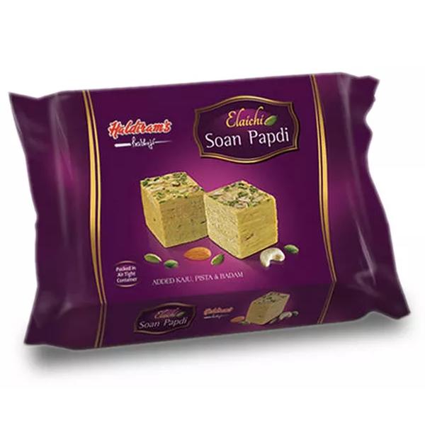 Haldiram's Elaichi Soan Papdi  (200 gm)