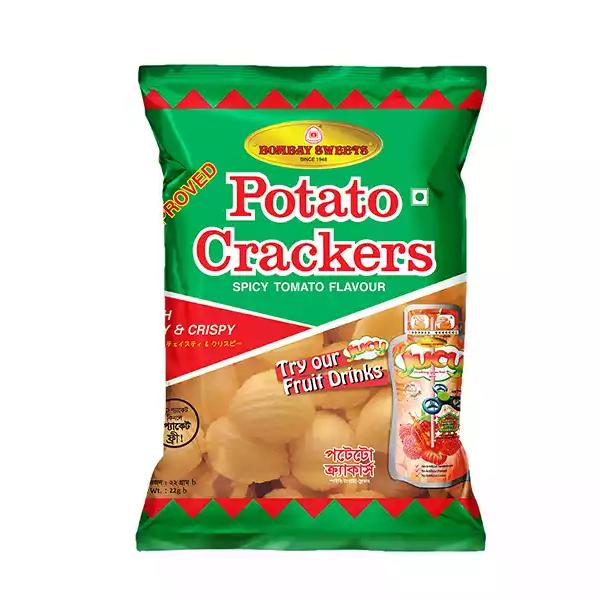 Bombay Sweets Potato Crackers (22 gm)