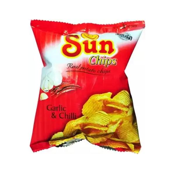 Sun Chips Garlic & Chilli  (22 gm)