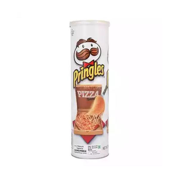 Pringles Potato Chips Pizza Flavour  (158 gm)