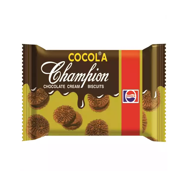 Cocola Champion Chocolate Cream Biscuits  (75 gm)