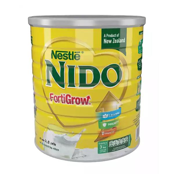 Nestle NIDO Fortigrow Full Cream Milk Powder TIN (2.5 KG)