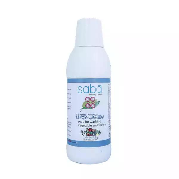 Saba Vegetable Washing Liquid (125 ml)