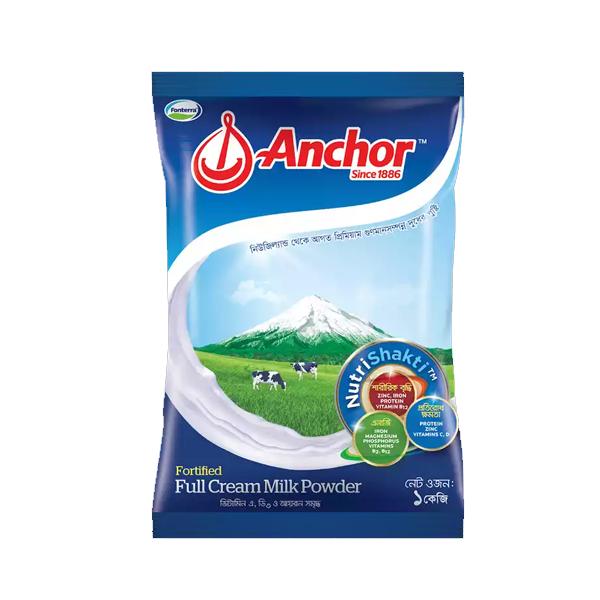 Anchor Fortified Full Cream Milk Powder (1 KG)