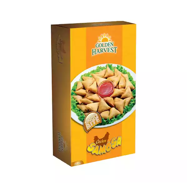 Golden Harvest Frozen Chicken Samosa  (250 gm 25 pcs)