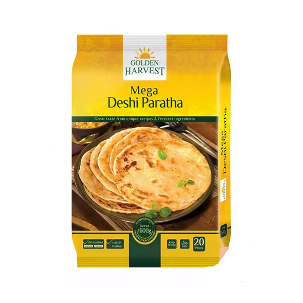 Golden Harvest Mega Deshi Paratha  (1600 gm 20 pcs)