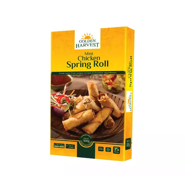 Golden Harvest Mini Chicken Spring Roll  (300 gm)