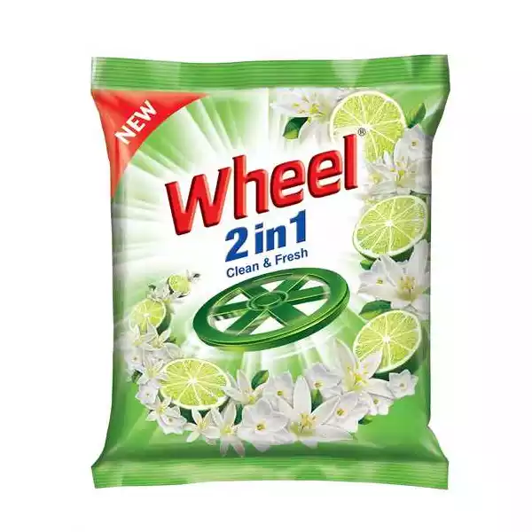Wheel Washing Powder 2in1 Clean & Fresh (1 kg)