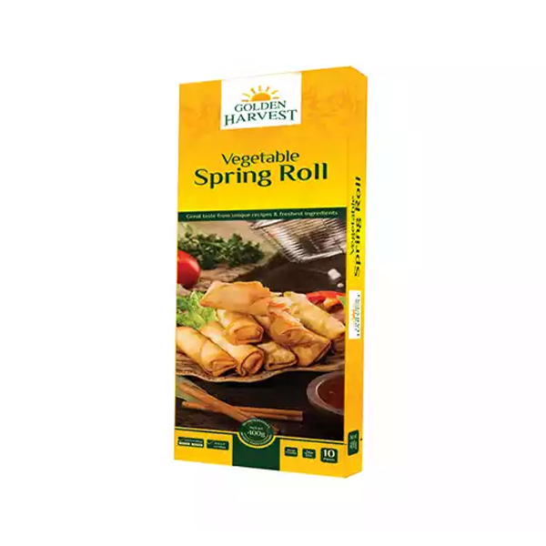 Golden Harvest Vegetable Spring Roll  (400 gm)