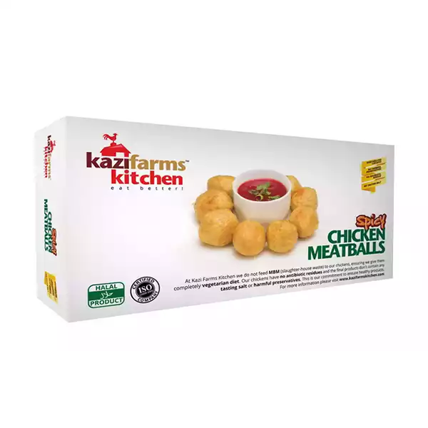 Kazi Farms Kitchen Chicken Spicy Meat Ball  (250 gm)