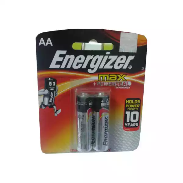 Energizer Max 1.5V AA Battery (2pcs)