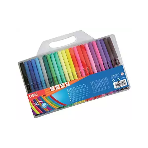 Deli Water Color Pen (37171) (24pcs)
