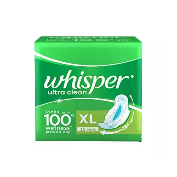 B6 Whisper Ultra Clean XL Wings  (15 Pads)